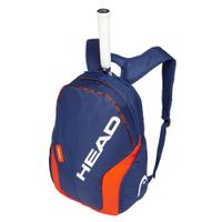 【H.Y SPORT】HEAD Reble 283339 網羽球後背包/球拍袋/休閒後背包 藍橘
