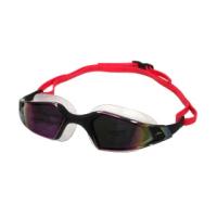 【SPEEDO】AQUAPULSE PRO 成人運動泳鏡-鏡面-蛙鏡 游泳 競技 黑紫(SD812265D638)