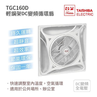 【TAISHIBA台芝】TGC-160D 輕鋼架DC變頻循環扇 有效改善室內溫度 MIT台灣製造(循環扇)