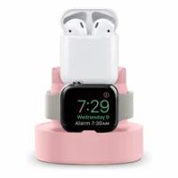 ซิลิโคนรองรับ Bracket แท่นชาร์จสำหรับ Apple Watch Series 1 2 3 4 5 6 SE Charger Stand สำหรับ Applewatch