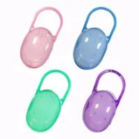 1PCS ความปลอดภัยจุกนมเด็ก Solid Pacifier กล่องจุกนมหลอกคอนเทนเนอร์ผู้ถือ Pacifier กล่องกระเป๋าเดินทางปลอดภ...