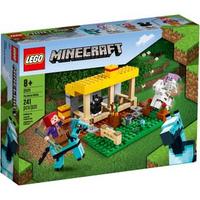 樂高LEGO Minecraft The Horse Stable  馬廄  21171