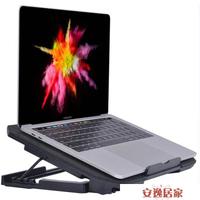 筆電散熱器底座適用聯想華為惠普15.6寸電腦14蘋果小米支架13.3戴爾游戲本靜音降溫板墊風冷外設