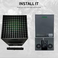 ♙❦✽現貨 Xbox Series X遊戲主機後置風扇 散熱風扇 xbox series x配件新品