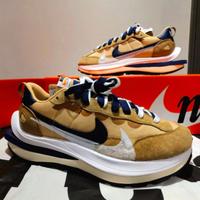 """全新正品 Sacai x Nike Vaporwaffle """"Sesame"""" DD1875-200 芝麻 卡其色 慢跑鞋"""