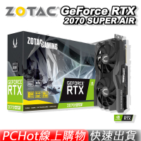 ZOTAC 索泰 GAMING GEFORCE RTX 2070 SUPER AIR 顯示卡