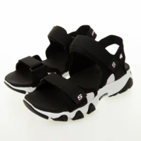 【SKECHERS】女 休閒系列涼拖鞋 D LITES 2.0(66666297BLK)
