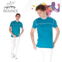 【SANTO】win-fit 微氣候運動衫-特設款(湖水藍)