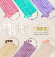 【禾坊藥局 台灣製雙鋼印】聚泰 天畔庄 成人滿版平面醫療口罩 10入 成人醫用口罩