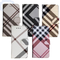 【Aguchi 亞古奇】Samsung Galaxy A32 5G 英倫格紋氣質手機皮套