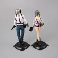 18ซม.เกมPlayerunknowns Battlegrounds PUBGตัวอักษรPropsชายและหญิงชุดคอสเพลย์Action Figureของเล่นสะสม