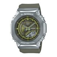 G-SHOCK 玩美時尚金屬八角形錶殼-橄欖綠 (GM-S2100-3A)