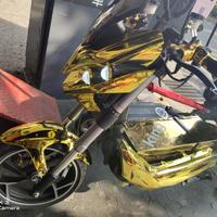 YH E-bike 戰狼電動車 全套電鍍外殼 多種電鍍顏色可以訂作 War Wolf Plated Shell