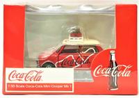 ☆勳寶玩具舖【現貨】TINY 微影 城市系列 1/50  合金小車 可口可樂 SCALE COCA-COLA MINI COOPER MK 1
