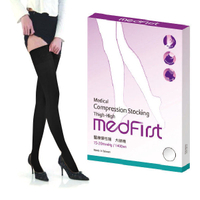Medfirst 醫療彈性襪 大腿襪 140D 黑色 (S號~XL號)【杏一】