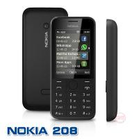 [趣嘢]Nokia 208 庫存品 3/4G卡可用 注音輸入 繁體介面 另有無相機版 保固30天