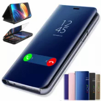 Smart Mirror Phone Cases for Huawei Mate 20/Mate 20 Pro/Mate 20 Lite Leather Flip Cover Mate20 20Pro 20Lite Protective Back