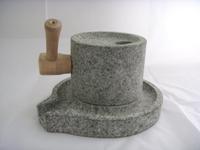 HZ02 石來運轉-迷你石磨 真的可以磨豆豆/副食品 體驗鄉土古早味