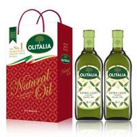 【Olitalia奧利塔】精緻橄欖油禮盒組(1000mlx2 瓶)