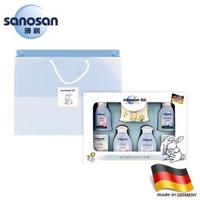 【sanosan】baby天然植萃柔膚新生禮盒(含提袋)