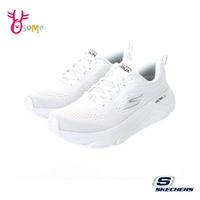 Skechers運動鞋 女鞋 GORUN MAX CUSHIONING ELITE 止滑慢跑鞋 跑步鞋 記憶鞋墊 柔軟 V8272#白色