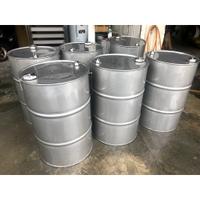 50加侖油桶(底部實心圓條、上孔徑6公分)、200公升白鐵油桶、工業風油桶、儲存桶、沙拉油桶、白鐵桶、不銹鋼桶、儲油桶、