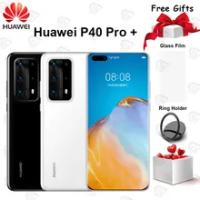 "Original Huawei P40 Pro Plus 5G โทรศัพท์มือถือ6.58 ""หน้าจอ Kirin 990 8G + 256G 100x superZoom Array Android 10 IP68 NFC สมาร์ทโฟน"
