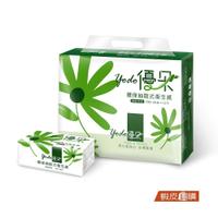Yodo優朵 環保抽取式花紋衛生紙150抽X72包/箱【蝦皮團購】