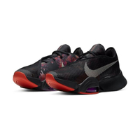 【NIKE 耐吉】AIR ZOOM SUPERREP 2 黑紫橘 訓練 編織 花卉 陰陽 男鞋(CU6445002)