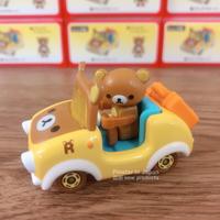 18052300010 日版TOMY車-懶熊車R07 日版小車 TOMICA 拉拉熊 R07 多美小車 真愛日本
