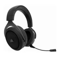 Corsair | หูฟังเกมมิ่งไร้สาย Corsair HS50 STEREO Blue Gaming Headset