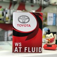 全家免運🎉日本製 豐田 TOYOTA 境內限定原廠油品 ATF WS 4公升 自排油 自動變速箱油 直送發售