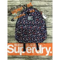 正品 極度乾燥 Superdry Montana Bag 後背包 深藍 小花 雛菊 書包 手提 背包 休閒包