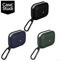 CaseStudi Waterproof AirPods Pro 充電盒防水矽膠保護套(含扣環)
