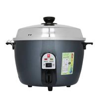 南亞牌 10人份304不鏽鋼電鍋(紅/灰)EC-210  多功能保溫電鍋不銹鋼台灣製 通過國家產品認證 美食鍋 電火鍋