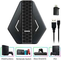 【日本代購】RasTec鍵盤滑鼠適配器 Nintendo Switch / PS4 轉換適配器