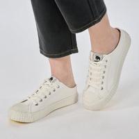 【moz】瑞典 穆勒拖鞋式餅乾鞋(經典白)