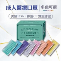 【令和】2盒組-三層醫療用口罩(50入/盒 經歐美雙重認證)