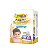 BABYLOVE | ผ้าอ้อมเด็กชนิดกางเกง รุ่น Premium Gold Pants (คละไซส์)