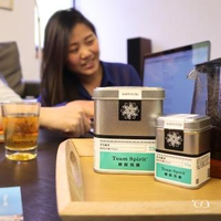 【samova 歐洲時尚茶飲】草本綠茶/咖啡因200ppm/Team Spirit 團隊效應(Tea Tin Mini系列)