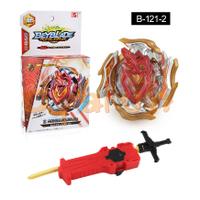 戰鬥陀螺B121 超刃勇士 Beyblade B-121 02陀螺帶發射器 超Z改造組 爆旋陀螺玩具 兒童對戰陀螺