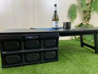 八刀草 Costco 好市多 折疊收納箱 延伸桌板 露營桌 極致黑下標區 (Forest Outdoor可用)