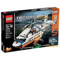 新產品LEGO樂高42052 雙旋翼運輸直升機飛機 科技機械系列拼裝積木玩具