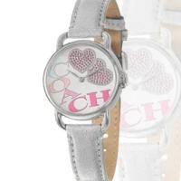 【COACH】俏皮甜心女用個性皮帶腕錶(14501266)
