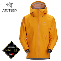【ARCTERYX 始祖鳥 加拿大】Beta LT 防水外套 登山夾克 男款 伊格奈橘 (L07539500)