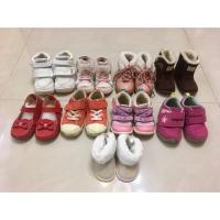 二手 女童鞋 H&M moonstar Carrot 日本月星 Zarababy