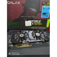 ★檢測異常★影馳 GALAX GeForce® GTX1070 Ti 8G EX 顯示卡 A879