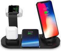 【美國代購-現貨】SODYSNAY無線充電器 適用於Apple Watch和Airpods的3合1無線充電座