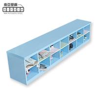 【南亞塑鋼】SS系列-14格坐式矮鞋櫃
