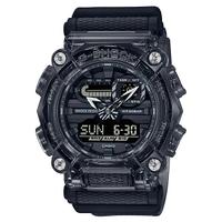 刷卡滿3千回饋5%點數 CASIO卡西歐G-SHOCK GA-900SKE-8A 時尚灰透色系指針/數位雙顯腕錶49.5mm